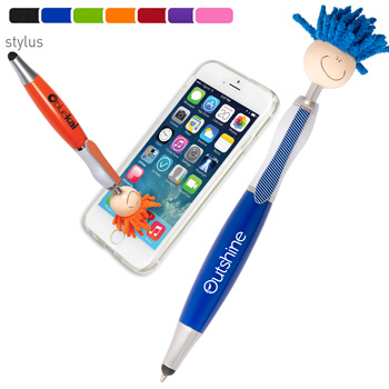 MopTopper Screen Cleaner with Stylus Pen