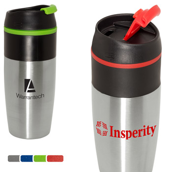 Easy-Sip 15 oz. Stainless Tumbler
