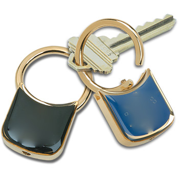 Lustredome™ Key Tag – Gold