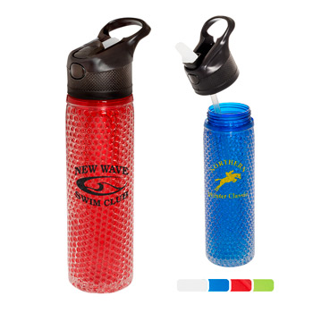 19 oz. Gel Bead Freezer Friendly Water Bottle