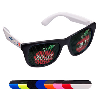 LogoSpecs Matte Finish Fashion Sunglasses