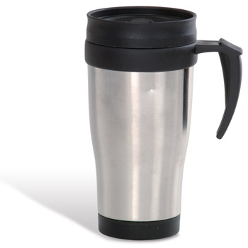 Stainless 16 oz. Commuter Mug