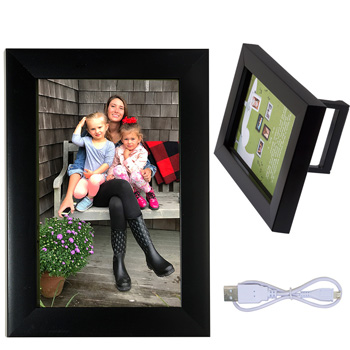 "4"" x 6"" Wireless Speaker and Frame"