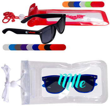 Fashion Sunglasses & Waterproof Bag