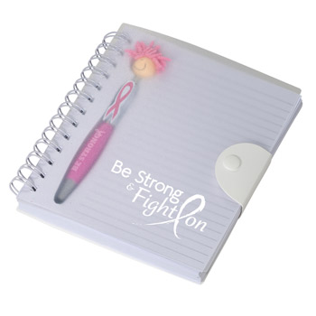 Awareness MopToppers® Stylus Pen & Notebook Set