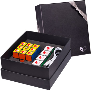 Rubik's Mobile Charger & Cube Set