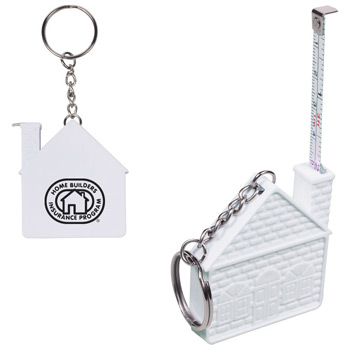 3 Ft. House Tape Measure Key Chain