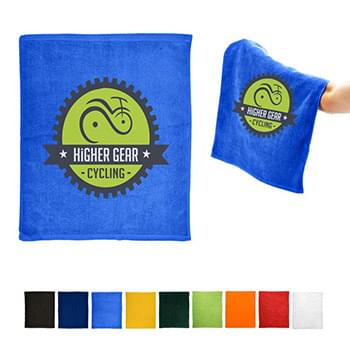 "Hemmed Cotton Rally Towel (15"" x 18"")"