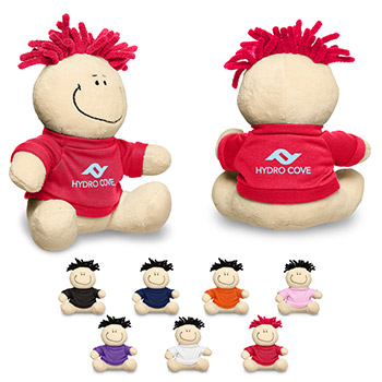 "7"" MopToppers® Plush with T-Shirt (Exclusive design)"