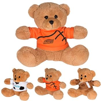 "7"" GameTime!® Plush Bear"