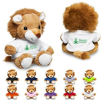 "7"" Plush Lion with T-Shirt"
